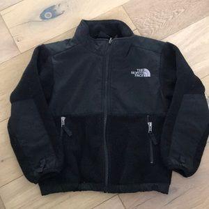 North Face Kid Black Fleece Jacket